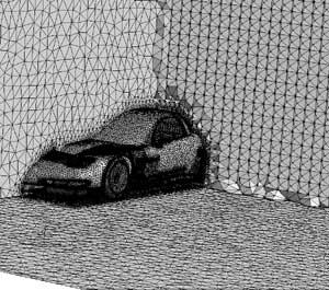 ANSYS ICEM CFD в проектировании гоночных машин  - FEA RU