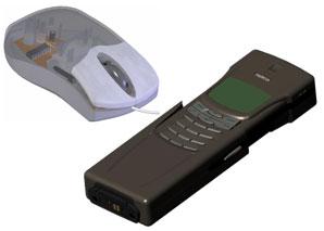 Работа со сборками на примере построения сборок компьютерной мыши и сотового телефона. Конкурс проектов SWR-AWARD 2006
