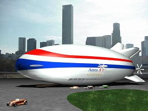 Пассажирский воздушный корабль Worldwide Aeros