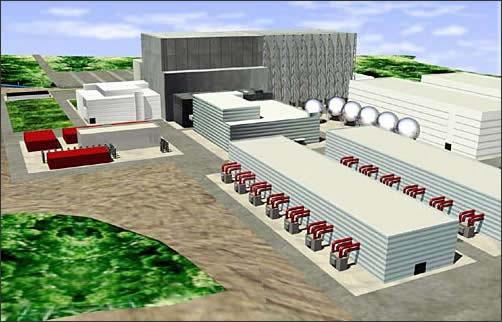 Виртуальная модель электростанции для реактора ITER