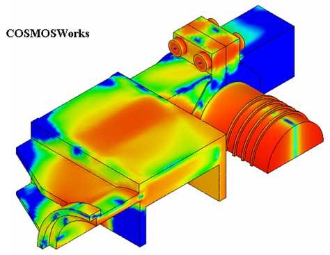 Анализ запаса прочности конструкции. CosmosWorks