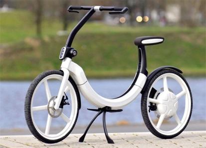 Электрический велосипед Volkswagen Bik.E