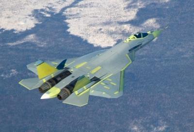 Истребитель пятого поколения Т-50 (ПАК ФА)