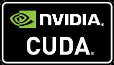 Логотип технологии CUDA от NVIDIA