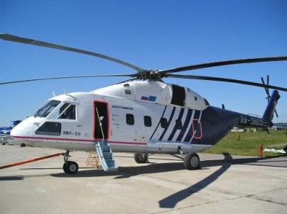 Многоцелевой вертолет средней дальности Ми--38