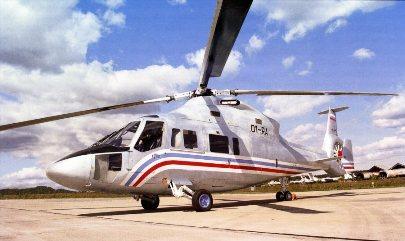 Траспортно-пассажирский многоцелевой гражданский вертолет Ка-62