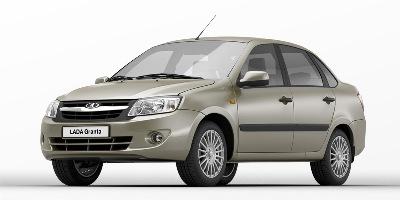 Бюджетный четырехдверный переднеприводный седан Lada Granta