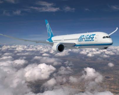 Широкофюзеляжный двухмоторный реактивный пассажирский самолет Boeing 787 Dreamliner