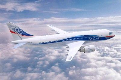 Ближне-среднемагистральный пассажирский самолет МС-21 (Иркут)