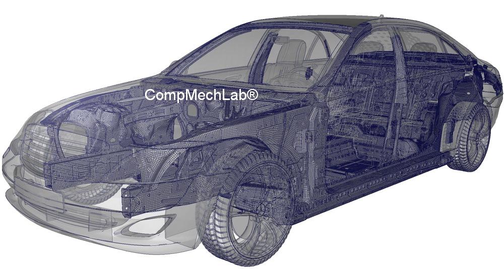 FEA.ru_CompMechLab_ANSA Hexa-FE-Model