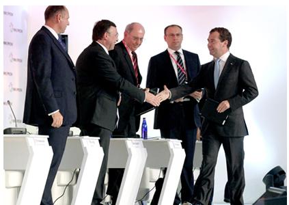 ИННОПРОМ-2010, выступление Д.А. Медведева: PLM, CAD/CAE, композиты, умные среды