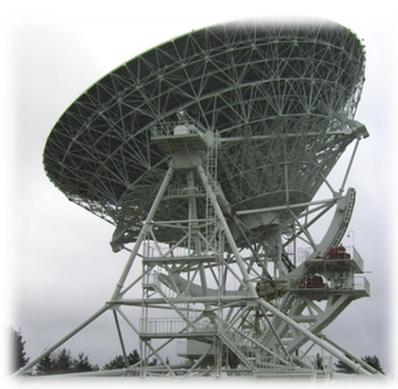 Радиотелескоп РТФ-32 в РАО