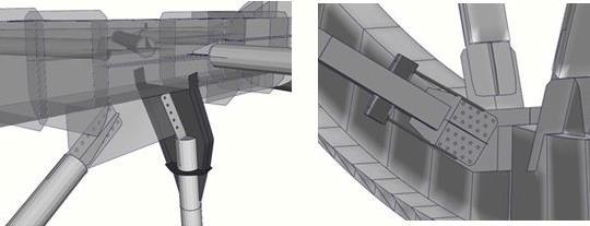 Геометрические модели восстановительных работ разрушенных соединений