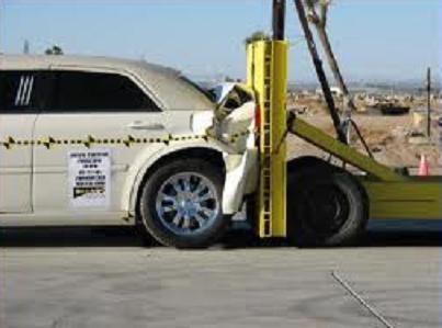 Характерные деформации транспортных средств при столкновении сзади