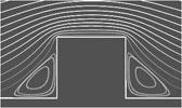 Обтекание квадратного выступа. Метод конечных объемов. ANSYS CFX