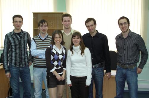 Группа студентов из Augsburg и сотрудники CompMechLab