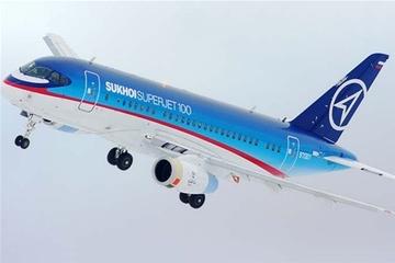 Сухой Суперджет-100_Sukhoi Superjet-100_SSJ-100