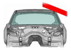 Опрокидывание на крышу (оценка отношения жесткости кузова к массе автомобиля)