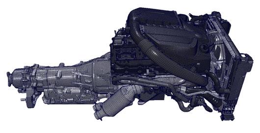 CompMechLab_конечно-элементная модель двигателя