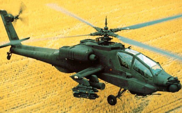 Вертолет AH-64 Apache