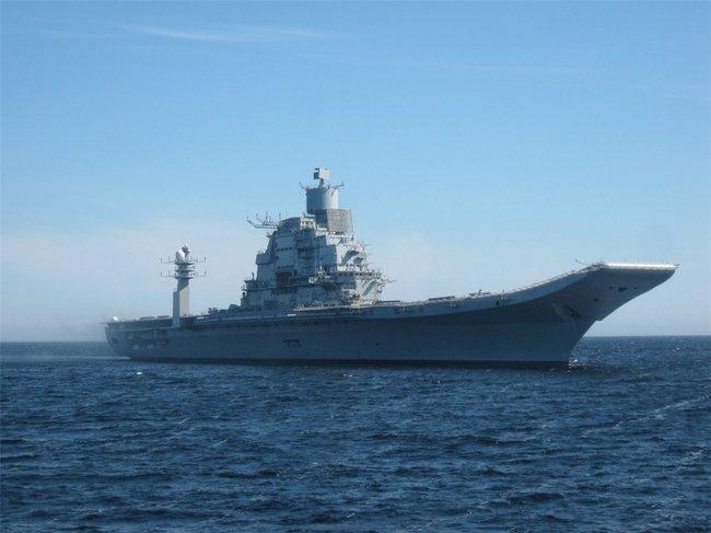 Ходовые испытания крейсера «Викрамадитья»