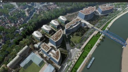 Archivideo 3D модель города