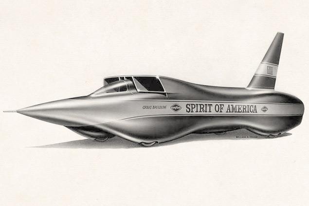 Spirit of America Sonic 1