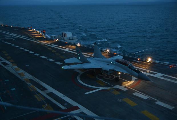 МиГ-29К/КУБ завершили серию испытательных полетов с палубы авианосца «Викрамадитья»