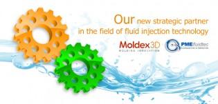 Логотип Moldex3D и PME FlyidTec