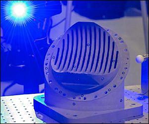 Напечатанная деталь двигателя RS-25
