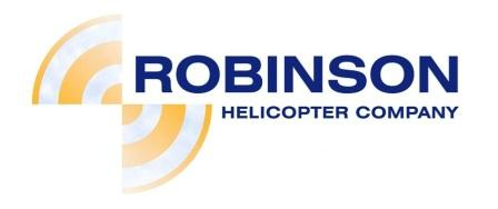 Логотип Robinson Helicopter Company