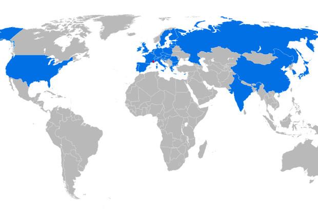 Основные участники проекта: ЕС, Индия, Китай, Республика Корея, Россия, США и Япония