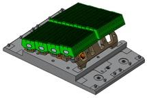 Тепловые, электромагнитные и прочностные расчеты блока W–LBSRPдивертора токамака JET (JointEuropeanTorus)