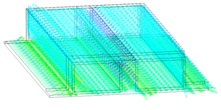 Тепловые, электромагнитные и прочностные расчеты диагностики «Рефлектометрия»