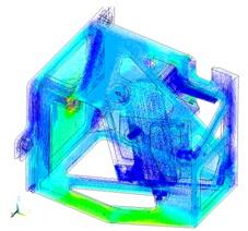 Электромагнитные и прочностные расчеты элементов диагностики «Спектроскопия водородных линий»