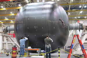 Композитный топливный бак для ракет компаний NASA и Boeing