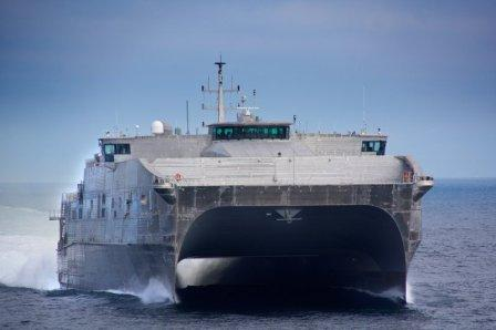 Десантный корабль-катамаран «Миллинокет»