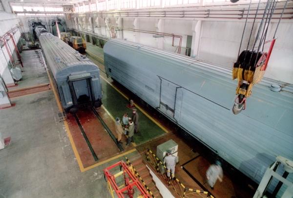 Боевой железнодорожный ракетный комплекс (БЖРК,