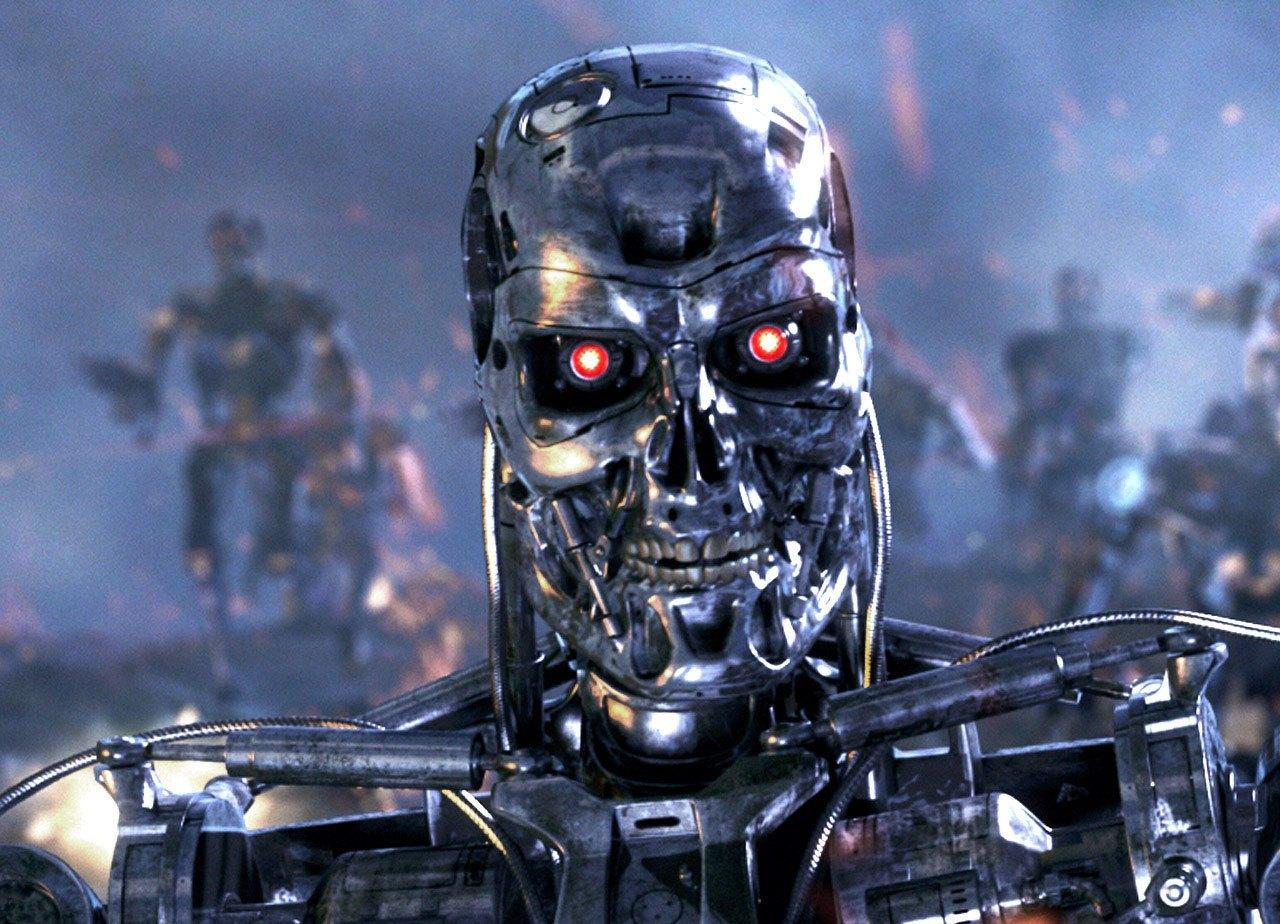 Боевые роботы в представлении художника