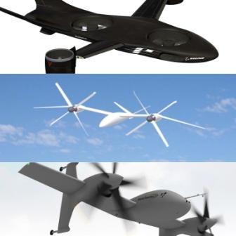 Концепты летательных аппаратов проекта VTOL-X компаний Boeing, Karem и Sikorsky