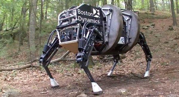 Робот-собака от Boston Dynamics