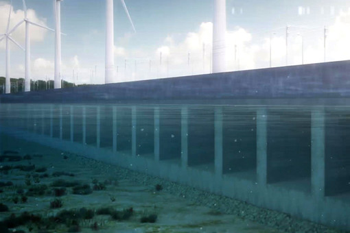 Китай построит дамбы для освоения приливов