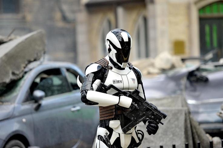 Концепт-арт военного робота