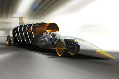 CAD модель Bloodhound SSC