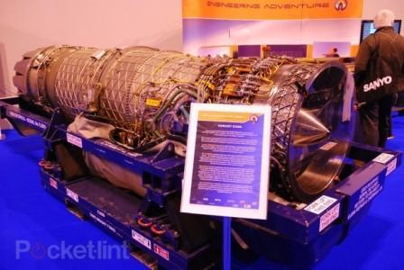 Двигатель автомобиля Bloodhound SSC