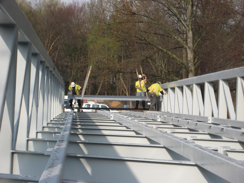 Композитный мост FiberSPAN компании Composite Advantage