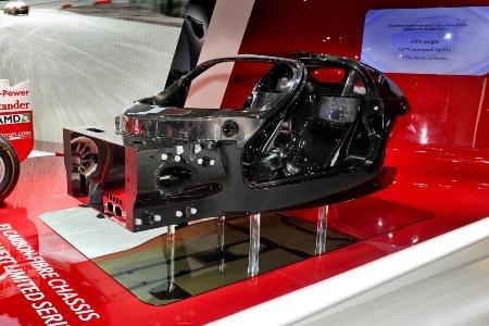 Композитный монокок Ferrari