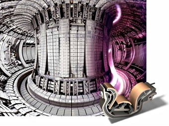 Вакуумная камера термоядерного реактора JET