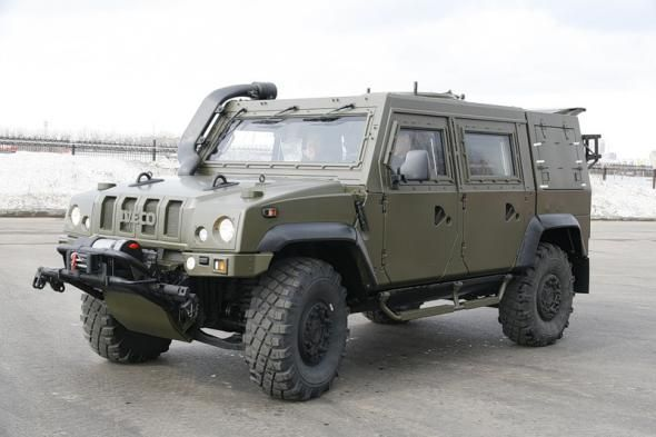Бронеавтомобиль Iveco LMV M65