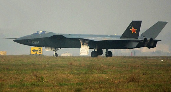 Китайский прототип истребителя J-20